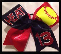 softball bows 12 softball hair bows cool idea use background colors to match