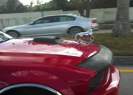 photo of the day prancing ornament on s197 mustang