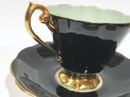 royal standard tea cup and saucer tea set green cups