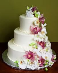 wedding cake flower three tier white wedding cake decorated with fresh pink and white