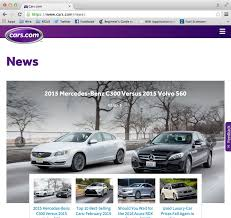 volvo website cars com unveils new website better experience chicago tribune