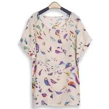 bird blouse chiffon bird blouse my style