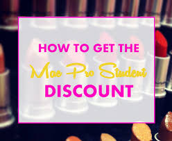 discount professional makeup becoming a makeup artist how to get a mac pro student discount