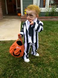 baby beetlejuice costume homemade toddler halloween costume