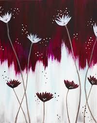 burgundy flowers creative canvas burgundy flowers the glen