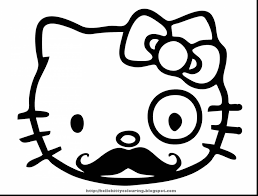 unbelievable hello kitty coloring pages print with hello kitty
