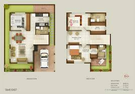 North Facing Floor Plans Duplex House Plans 30x50 South Facing Homes Zone