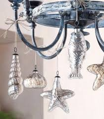 Beachy Chandeliers 9 Easy Christmas Holiday Decorations With A Nod To Nautical And