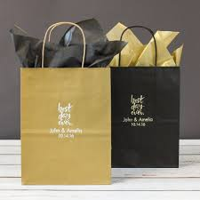 personalized wedding gift bags wedding favor gift bags beau coup