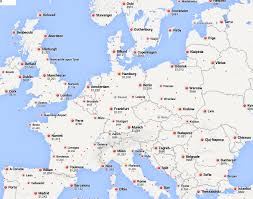 Amsterdam Map Europe by Winter U0026 Spring Sale To Europe From 536rt Slc Flight Deals