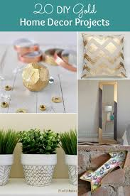 Diy Home Interior Design 20 Diy Gold Home Decor Projects