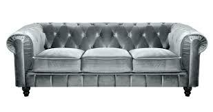 canap 240 cm canape 240 cm frisch chesterfield velours deco in 3 places