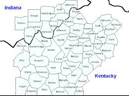 map of ky and surrounding areas lmk county warning area cwa