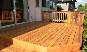 cedar decking service u0026 installation in vancouver arbutus vinyl