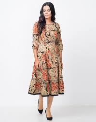 model dress buy fabindia womens cotton kalamkari printed dress online fabindia
