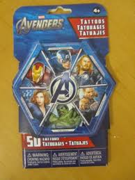 v3141 marvel avengers tattoos 50 different tattoos ages 4