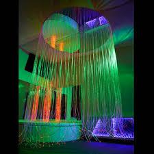 Fiber Optic Curtains Circular Led Fiber Optic Shower