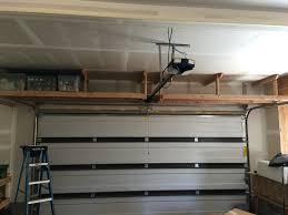 2 x 4 overhead garage storage quickcrafter best of diy