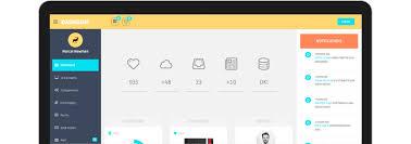 template dashboard free dashgum free dashboard