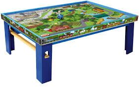 thomas train set wooden table upc 746775215491 thomas friends wooden railway island of sodor