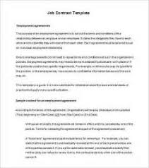 staff contract template free sample resume cover letter for new