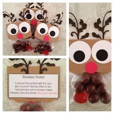 christmas candy gifts items similar to new reindeer noses christmas favors christmas