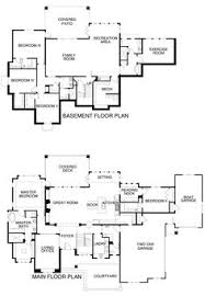 floor plans utah 5537 2 story with casita elevation image house plans pinterest