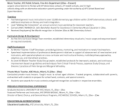 personal resume exle professional resume sle for musician resumeusic