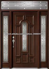 porte en bois de chambre porte du0027entree bois attachant porte en bois massif exterieur