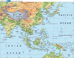 Map Of Asia Quiz by Download Map East Asia Major Tourist Attractions Maps