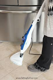 how to clean tile floors the chemical free way setting for four