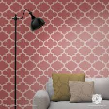 Best Stenciled  Painted Walls Images On Pinterest Wall - Wallpapers designs for walls