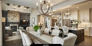 Interior Design Kitchen Living Room by Kitchen Living Dining Room Calbridge Homes Cascade Custom Home