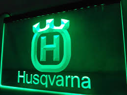 husqvarna led sign u2013 vintagily