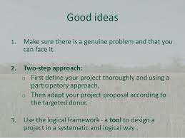 10 project proposal writing