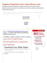 Multiple Choice Questions For Fashion 100 Top Computer Hardware Questions And Answers Pdf Computer
