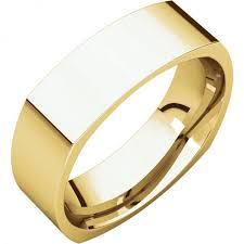 mens wedding bands gold men s yellow gold square wedding band custom jewelry designers