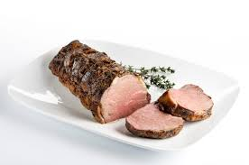 roast beef with garlic and thyme