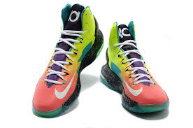 cheap kd 5 shoes yellow black green sale 14906