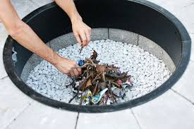 how to light a fire pit new best way to light a fire pit make your own fire pit in 4 easy