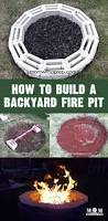 build a backyard fire pit diy backyard fire pit