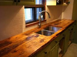 Latest Kitchen Countertops by Reclaimed Wood Kitchen Countertops Classy Design Stylish Kitchen