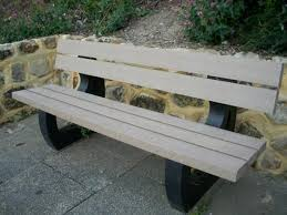 Park Bench Made From Recycled Plastic Recycled Plastic Street Furniture By Go Plastic Seats Benches