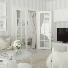 Home And Interiors by Kaunis Valkoinen Sisustus Pariovet Ja Ihanan Paljon Valoa