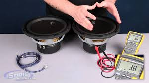 how to wire two single 4 ohm subwoofers to a 2 ohm final impedance