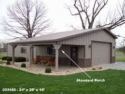 Metal Siding For Pole Barns Standard Porches Buildings Structures Metal Steel Pole Barns