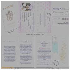 wedding invitation elegant passport wedding invitation template
