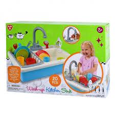 Kitchen Sink Play Wash Up Kitchen Sink B O 20 Pcs Play Emotion