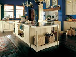 kitchens with white cabinets and blue walls ideas light h decor