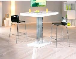 chaise haute cuisine design chaise haute fly cool table de bar design blanche palace table haute